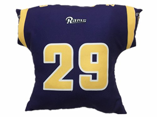 #29 Eric Dickerson 2016 Chrismas Day Navy Blue Throw Pillows (Bradford Truck Bed compare prices)