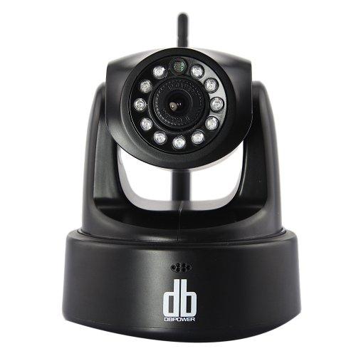 DBPOWER® 1280x720 HD 720P Wireless-LAN IP-Kamera-Überwachung IP-Kamera mit Schwenk-Neige-2-Wege-Audio-Nachtsicht-IP-Netzwerk-Kamera Home Security System für MAC / Windows / Linux / Android und IPhone, Unterstützung Alarm Ausgang, Alarm per E-Mail, FTP, Web-Zugang, Free Mobile Remote Viewing