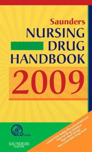 Saunders Nursing Drug Handbook 2009, 1e (HODGSON/NURSES DRUG HNDBK)