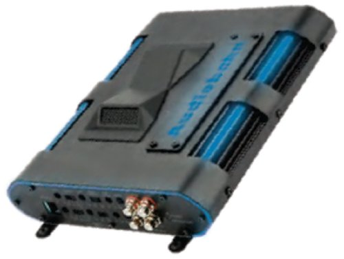 Audiobahn Ama24004H 300W Rms 4-Channel Class A/B Murdered Out Series Car Amplifier