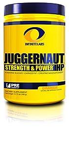 Infinite Labs Juggernaut HP Preworkout Supplement, Orange, 390 Gram