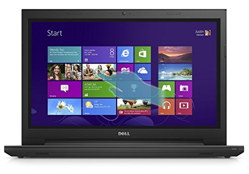 Dell Inspiron i3543 15.6-Inch Touchscreen Laptop (Intel i3-5005U, 4GB RAM, 1TB HD, DVD RW, WiFi, Windows 8.1) Black