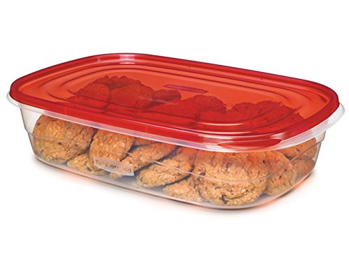 Rubbermaid Takealongs Large Rectangle, Pack Of 2