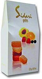 Sidari Gele - Assorted Fruit Gele 4.4oz - (Pack of 4)