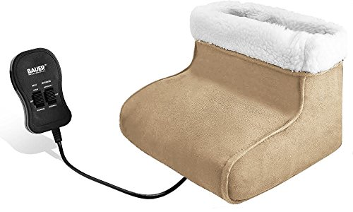 electric-heated-foot-massager-warmer-fleece-suede-comfort-comfy-feet-relaxing-bauer-branded-beige
