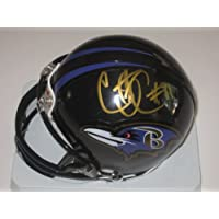 Courtney Upshaw Baltimore Ravens Rookie Signed Autographed Mini Helmet Authentic Certified Coa