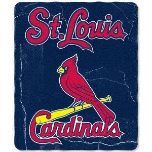 "St. Louis Cardinals Mlb Lightweight Fleece Throw Blanket 50""X60"" front-974951"