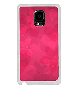 Beautiful Hearts Flowers 2D Hard Polycarbonate Designer Back Case Cover for Samsung Galaxy Note Edge :: Samsung Galaxy Note Edge N915FY N915A N915T N915K/N915L/N915S N915G N915D