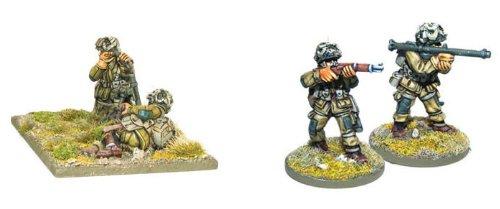 Us Airborne Bazooka & 60mm Light Mortar Team Miniatures - 1