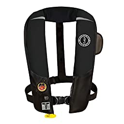 Mustang Survival Mustang Hit Inflatable Pfd Automatic W/Harness Black