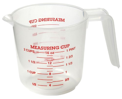 Norpro 2-Cup Plastic Measuring Cup (Measuring Cup Plastic 2 Cup compare prices)