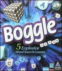 Boggle 5 Explosive Word Search Games Computer Cd Rom Games