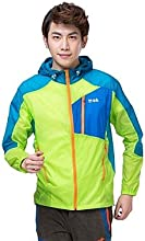 Makino Men39s Sun-proof Lightweight Jacket 3124-1 - Light Green - XL