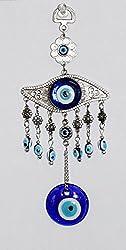 Odishabazaar Turkish Blue Evil Eye (Nazar) Amulet Wall Hanging Home Decor Protection