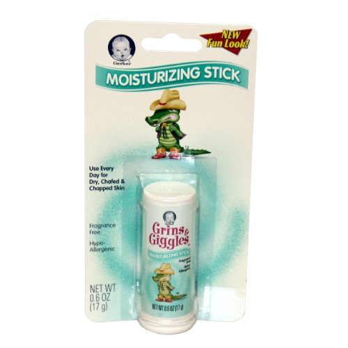 Gerber 3290BC Grins & Giggles Moisturizing Stick - 0.6 Oz. Tube