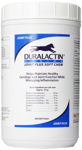 Veterinary Products Laboratories Duralactin Joint Plus Soft Chews, 240-Count