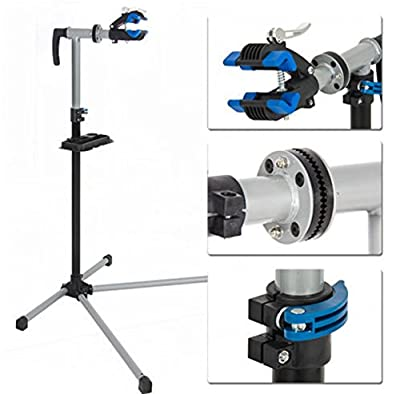 """Cycle Arm Stand Repair Bike Park Tool Bicycle Rack Pro Adjustable 41"""" To 75"""" w/ Telescopic Arm"""