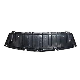 CarPartsDepot, Engine Splash Shield Lower Under Cover Front Center Plastic Assembly, 429-44102-03 TO1228141 5144747010