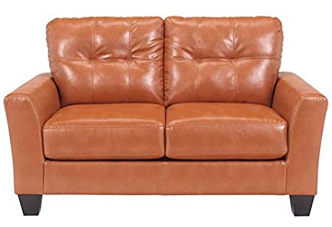 Durablend Loveseat in Orange