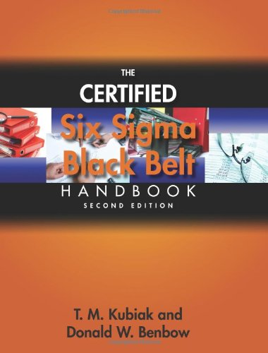 The Certified Six Sigma Black Belt Handbook, Second Edition