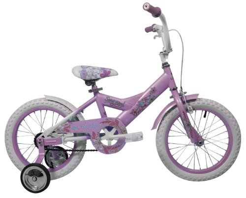 Columbia Girl's Song Bird Bike, Pink, 16-Inch