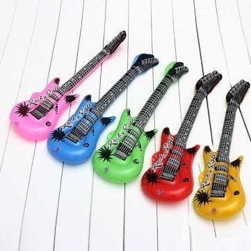 Bambini gonfiabile Air Guitar Show Prop Giocattoli Musica Sogno