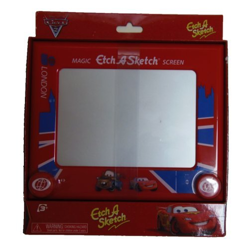 The Classically Simple Etch-A-Sketch Is One Of The Best-Known Toys Of A Generation And Remains Popular Today - Etch A Sketch Ohio Arts Cars London Edition Classic Size