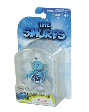 Picture of Jakks Pacific The Smurfs Movie Grab Ems Mini Figure Gutsy (B005FCE3HE) (Jakks Pacific Action Figures)