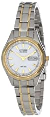 Citizen Womens EW3144-51A Eco-Drive Sport Two-Tone Watch