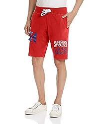 Superdry Men's Cotton Shorts (5054265361104_M71MX005L_Medium_Trophy Red)