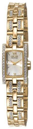 Citizen Women's Eco-Drive Silhouette Crystal Watch #EG2352-52P