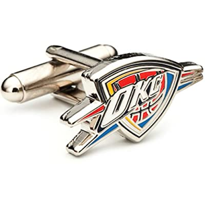 Oklahoma City Thunder NBA Cufflinks Cuff Links