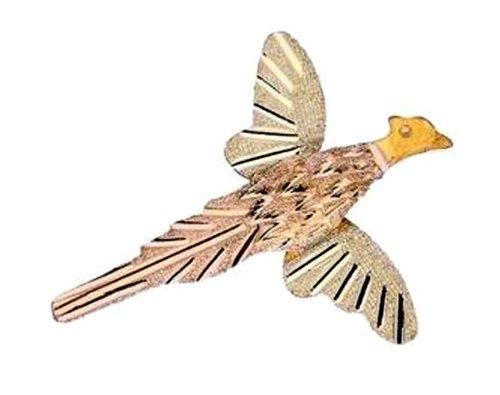 Stamper Black Hills Gold 12K Pheasant Tie Tac. TACPH2