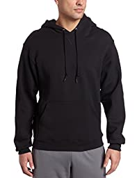 Russell Athletic Men\'s Dri Power Hooded Pullover Fleece Sweatshirt, Black, XX-Large