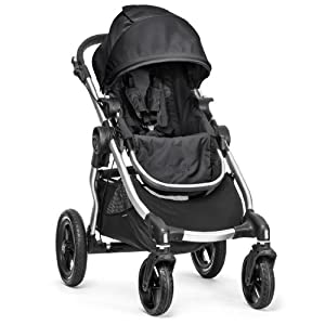 Baby Jogger City Select Silver Frame Stroller, Onyx by BaJogger