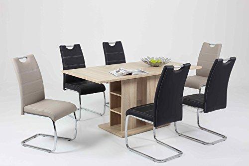 esstisch s ulentisch ausziehbar com forafrica. Black Bedroom Furniture Sets. Home Design Ideas