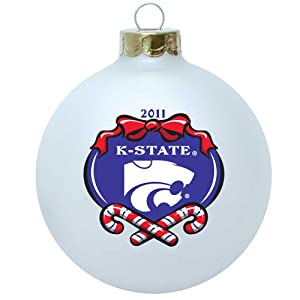 "NCAA Kansas State Wildcats Large 3 1/4"" Ornament - 2011 Collectible Series"
