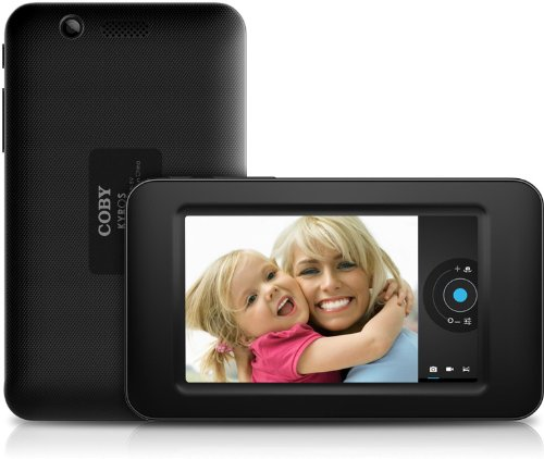 Coby Kyros 4.3-Inch Android 4.0 4 GB Internet Tablet 16:9 Capacitive Multi-Touch Widescreen, Black (MID4331-4)