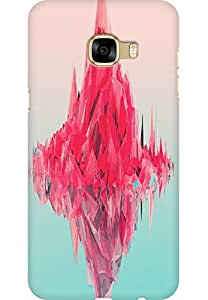 AMEZ designer printed 3d premium high quality back case cover for Samsung Galaxy C5 (abstract art )