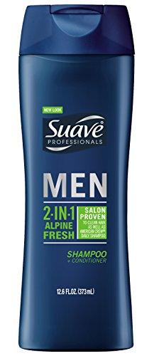 Suave Men 2 in 1 Shampoo and Conditioner, Alpine Fresh 12.6 oz (Suave Men Shampoo And Conditioner compare prices)
