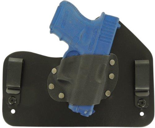 Everyday Holsters Glock 26, 27, & 33 Hybrid Holster Iwb Left Hand Black front-27846
