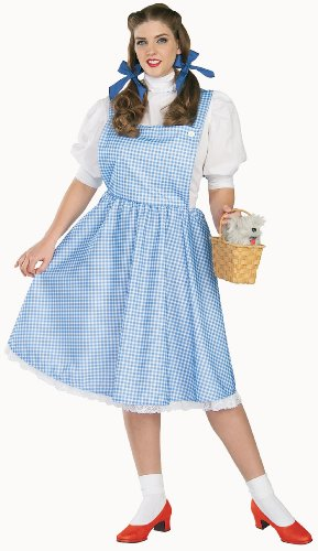 The Wizard of Oz Dorothy Adult Halloween Costume - Size Plus (size 16/18)