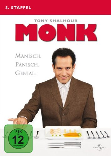 Monk - 5. Staffel [4 DVDs]