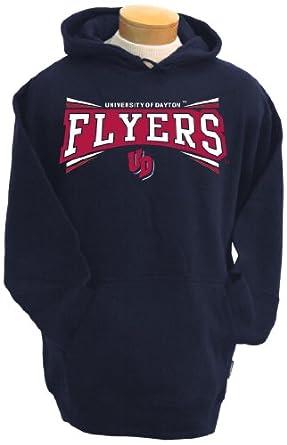 NCAA Dayton Flyers Mens Condor Hooded Sweatshirt by CI Sport