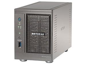 NETGEAR ReadyNAS Ultra 2: 4 TB (2 x 2 TB) Network Attached Storage RNDU2220