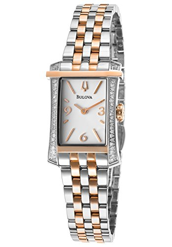 Bulova Women'S 98R186 Analog Display Analog Quartz Two Tone Watch