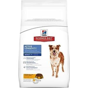 Hill's Science Diet Mature Adult Active Longevity Original Dry Dog Food, 5-Pound Bag