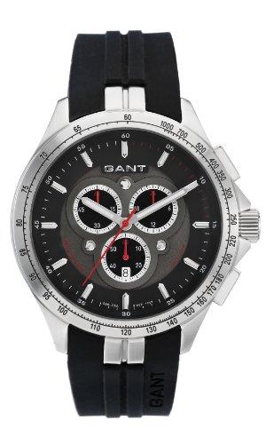 Gant ASHTON W10851 - Reloj para hombres, correa de plástico color negro