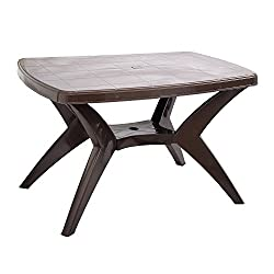 Cello Proline Six Seater Dining Table (Ice Brown)