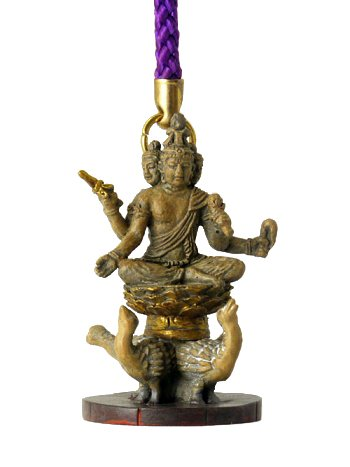 miniature-buddha-brahma-purple-strap-toji-official-supervision-license-japan-import
